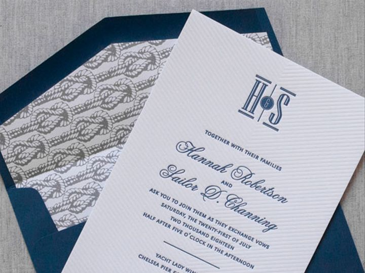 Tmx 1454509309242 Stoneharborletterpressweddinginvitationgallery02 Bristol wedding invitation