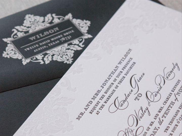Tmx 1454509361771 Stratfordletterpressweddinginvitationgallery03 Bristol wedding invitation