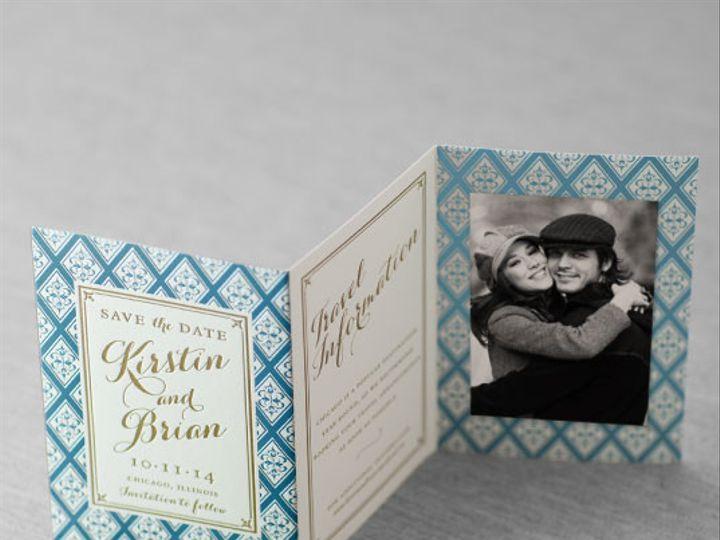 Tmx 1454510474497 Galleryfairfielddauphinepressletterpressedgingfoil Bristol wedding invitation