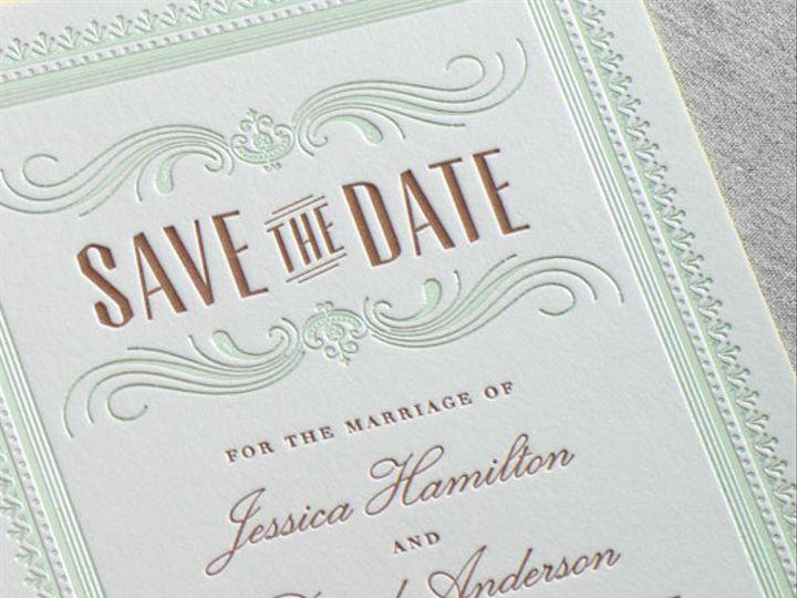 Tmx 1454510537817 Galleryhamiltondauphinepressletterpressedgingfoil0 Bristol wedding invitation