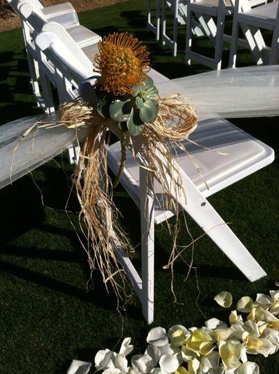 Desert flower arrangement