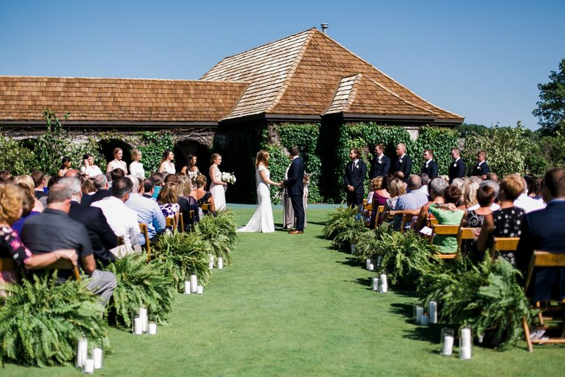 Beach House Lawn Ceremony