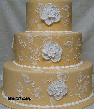 Tmx 1306820170908 Flowercake Bellevue wedding cake