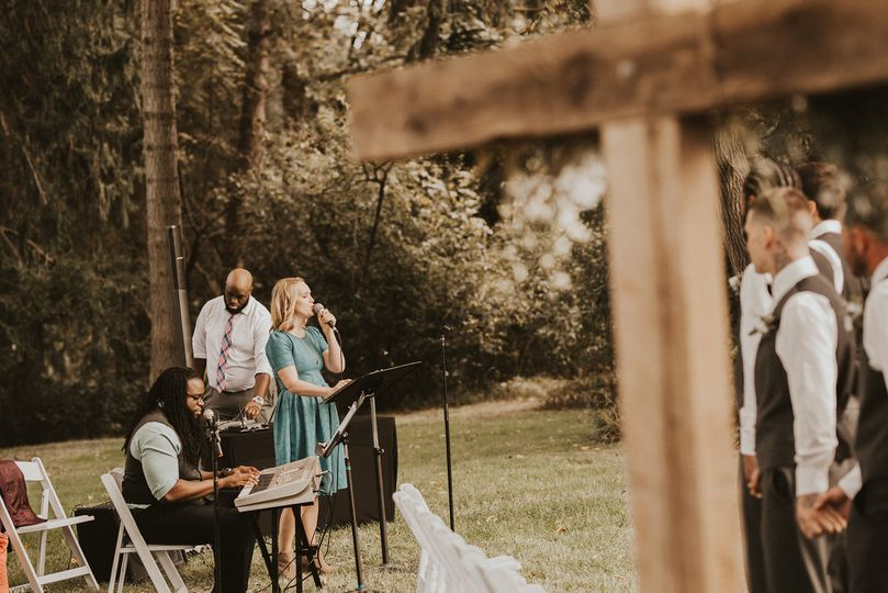 Outdoor Ceremony Mics & Sound