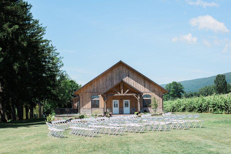 Ceremony at Vineyard