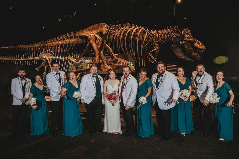 Wedding photos in exhibits