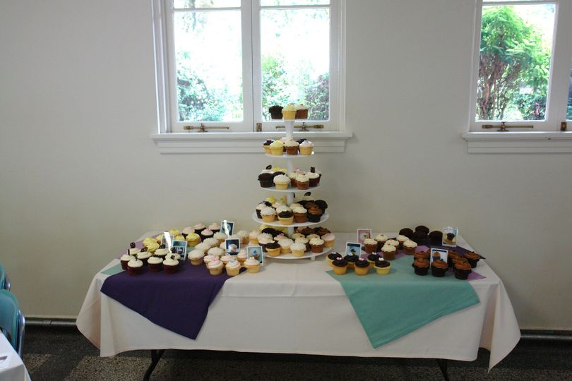 Cake table display