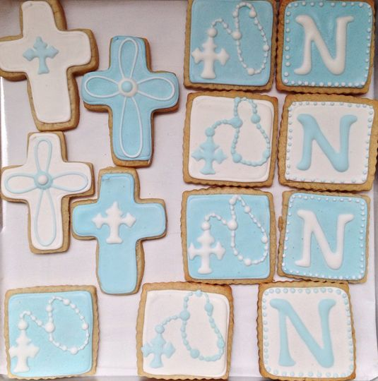 Custom celebration sugar cookies