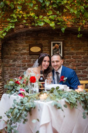 Intimate little Italy wedding