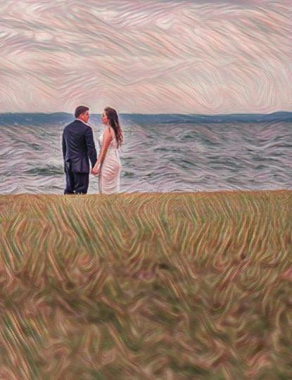 Love Of Art - Lake Wedding