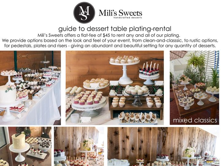 Tmx Guide To Dessert Table Plating Rental 51 907256 1569633883 San Marcos, CA wedding cake
