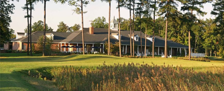 Back of clubhouse