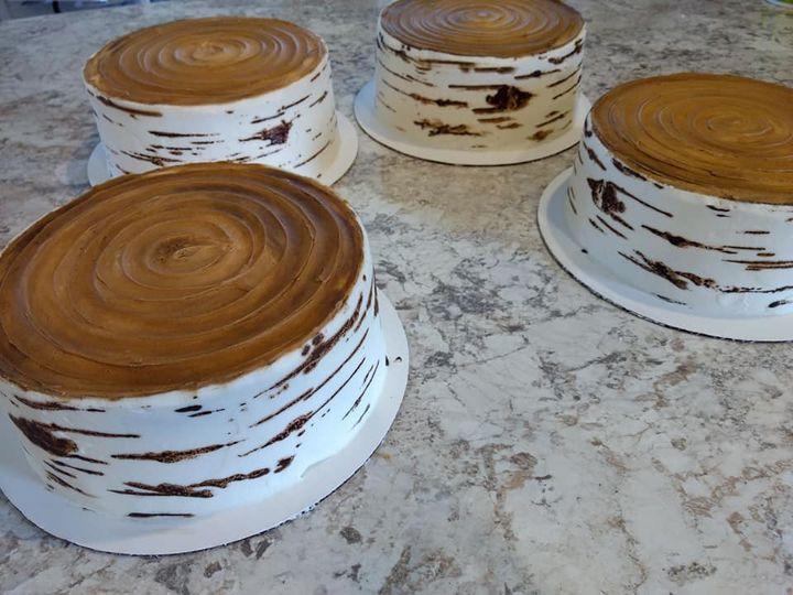Birch cutting cakes