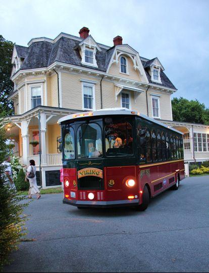 Newport Rhode Island Trolley Service