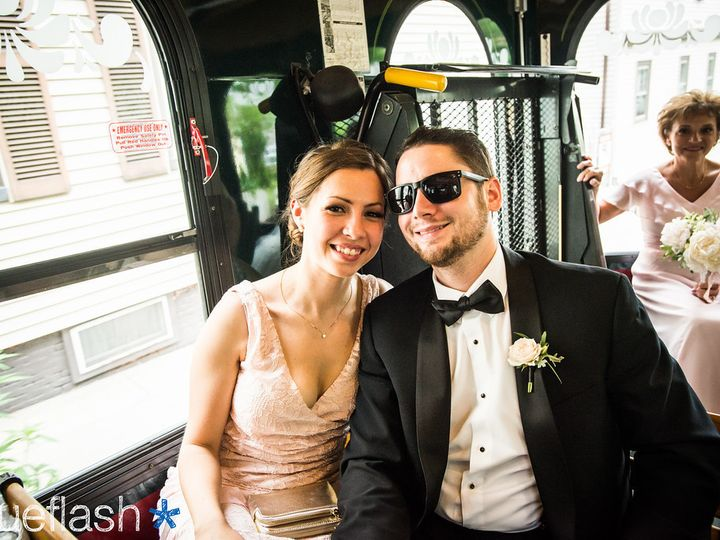 Tmx 1481732511113 Blueflash 8 Newport, Rhode Island wedding transportation