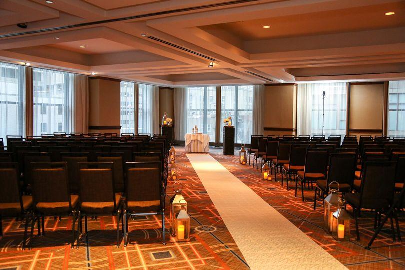 Picasso Ballroom, Ceremony