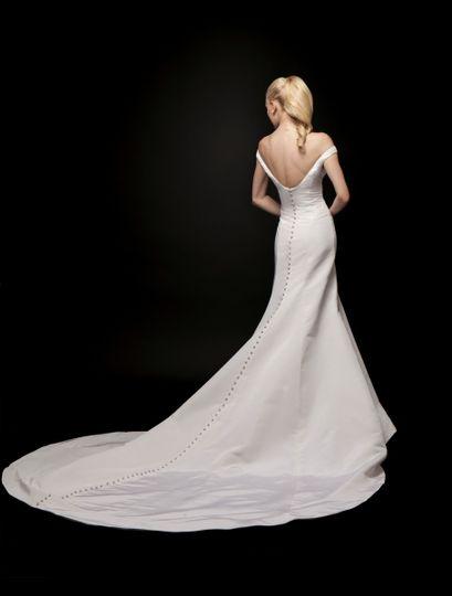 Low back dress