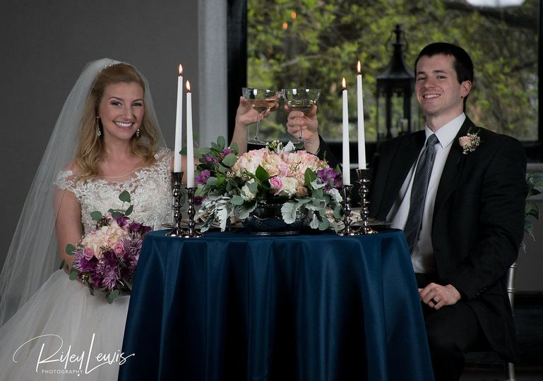 Sweetheart Table by Afterglow Events