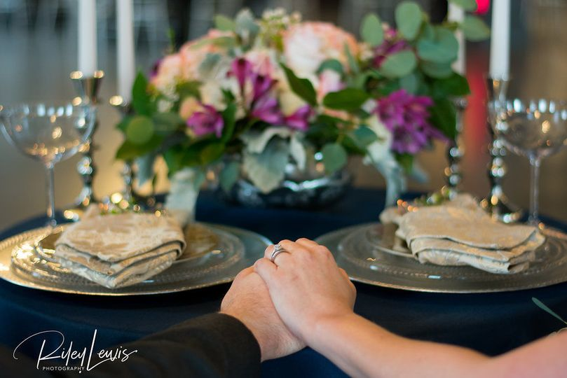 Tablescape and Floral by Afterglow Events