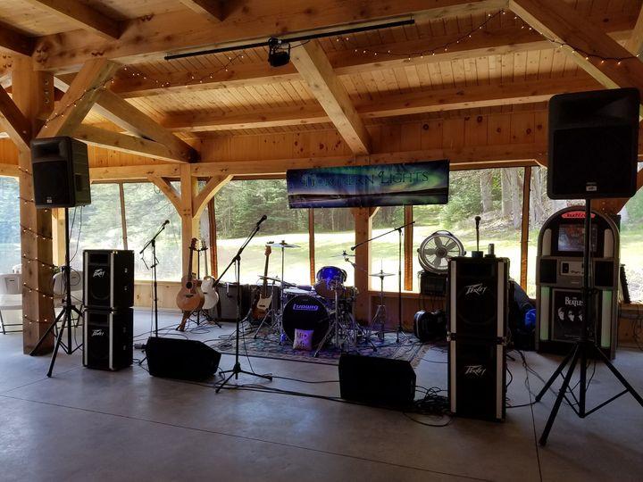 Band/DJ area