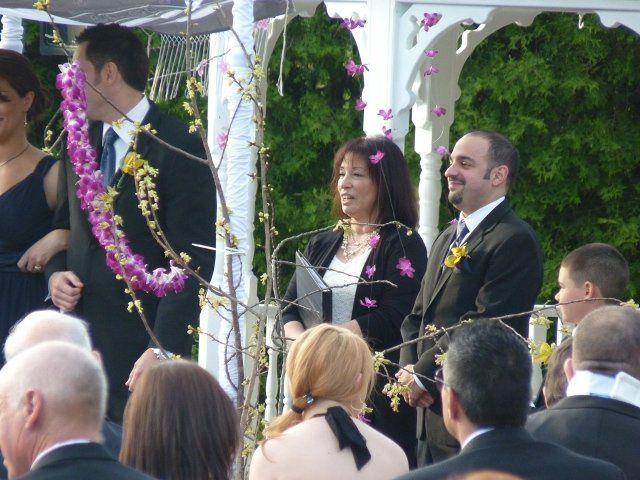 Tmx 1343760173509 Christinawatchingbrdalpartyleavingshaferwedding Hillsborough, New Jersey wedding officiant