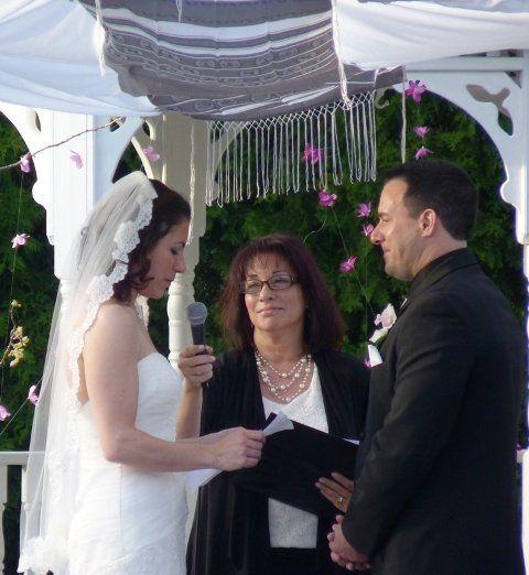 Tmx 1350143345114 DanaReadingHerVows650PM Hillsborough, New Jersey wedding officiant