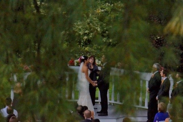 Tmx 1382029041135 Ceremony   Through The Weeping White Pine Tree   9 6 13resized  7 08 Pm 1024x683 Hillsborough, New Jersey wedding officiant