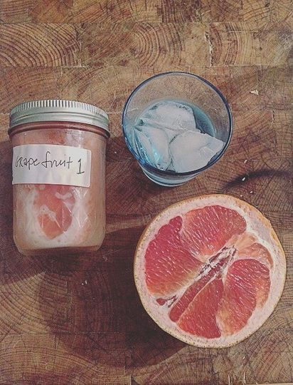 Honeysuckle Vodka // Fresh Grapefruit