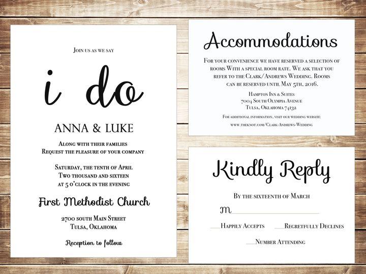Tmx 1489679871761 Group6 Tulsa, OK wedding invitation