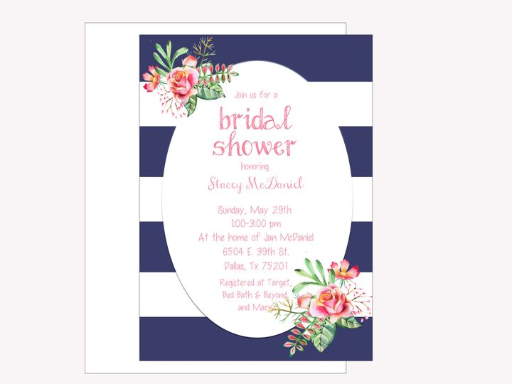 Tmx 1489680363704 Bridal Shower 3 Etsy Tulsa wedding invitation