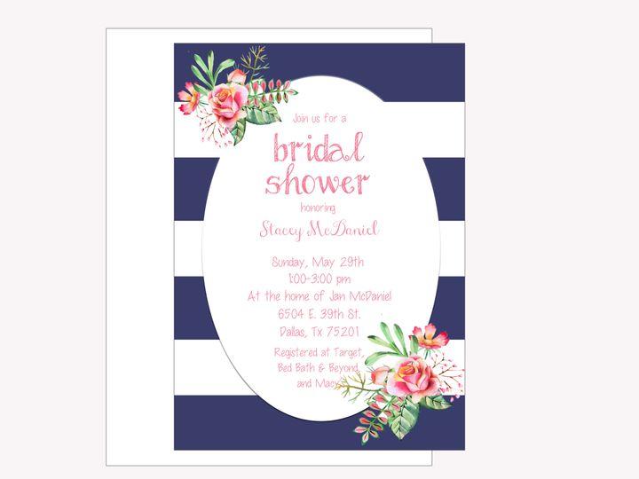 Tmx 1489680363704 Bridal Shower 3 Etsy Tulsa, OK wedding invitation