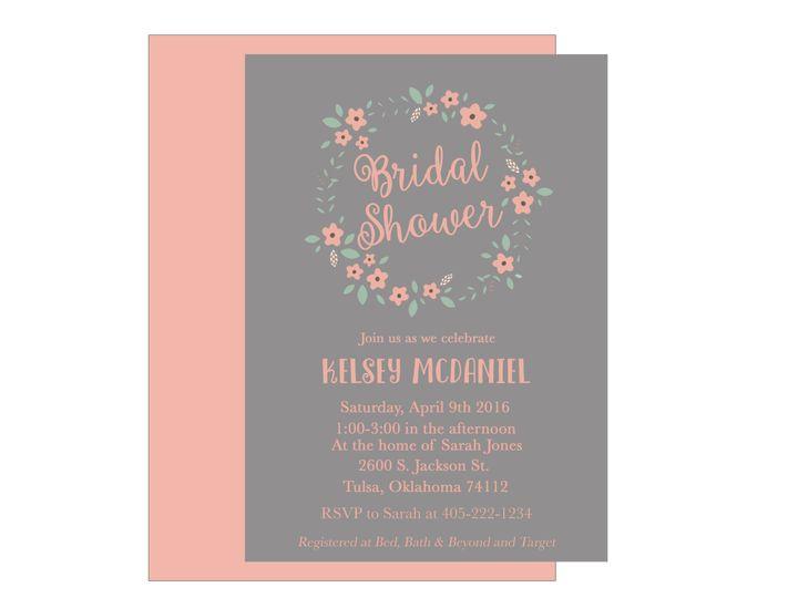 Tmx 1489680384782 Bridal Shower 4 Etsy Tulsa, OK wedding invitation
