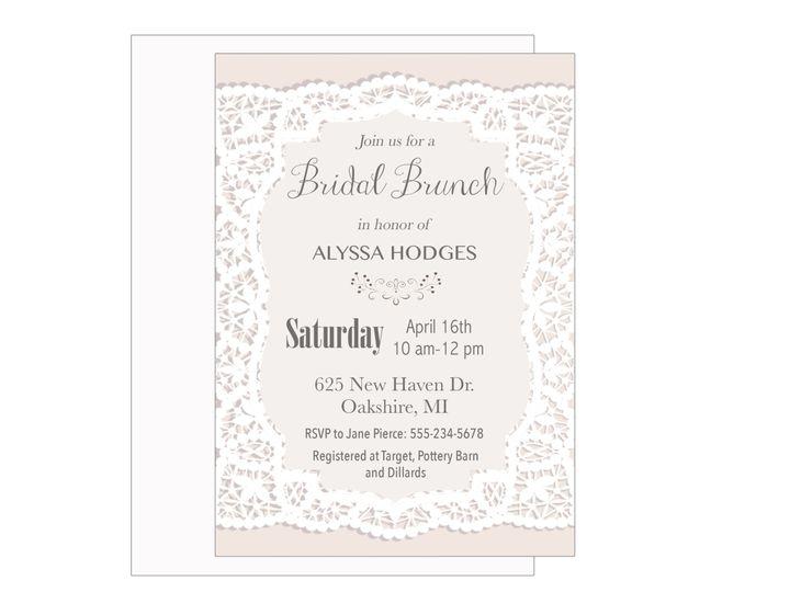 Tmx 1489680407092 Bridal Shower 6 Etsy Tulsa, OK wedding invitation