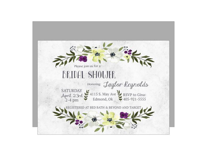 Tmx 1489680431201 Bridal Shower 7 Etsy Tulsa, OK wedding invitation