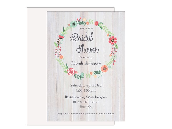Tmx 1489680456764 Bridal Shower 8 Etsy Tulsa wedding invitation