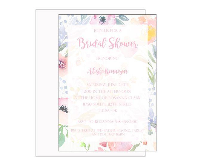 Tmx 1489680481695 Bridal Shower 9 Etsy Tulsa, OK wedding invitation