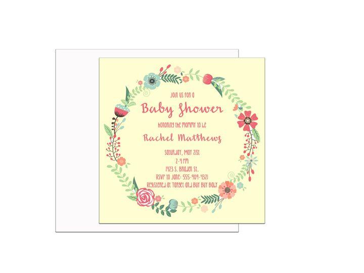 Tmx 1489680508074 Bridal Shower 10 Etsy Tulsa, OK wedding invitation