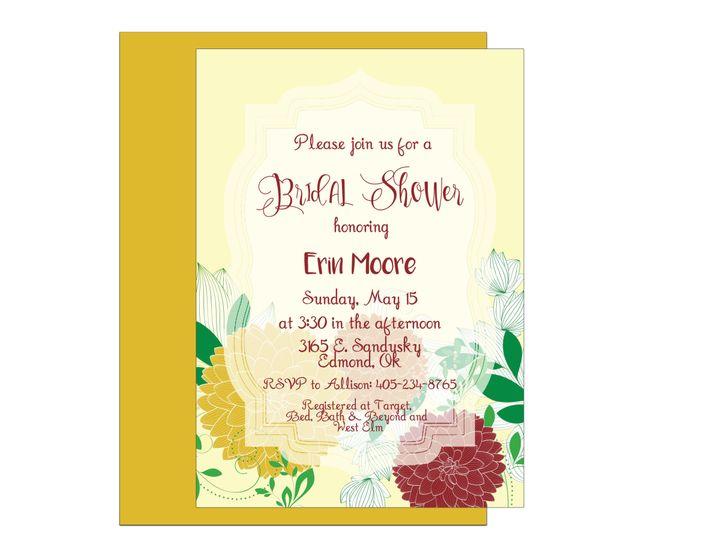 Tmx 1489680533690 Bridal Shower 11 Etsy Tulsa, OK wedding invitation