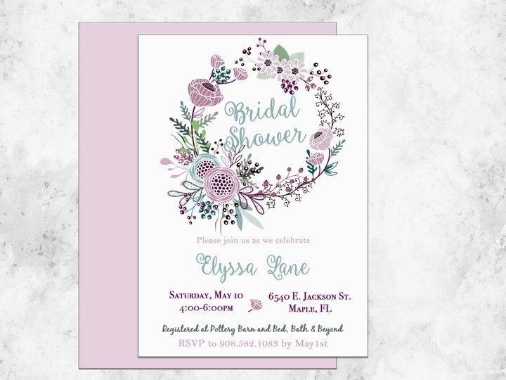 Tmx 1489680591946 Bridal Shower 13 Etsy Tulsa wedding invitation