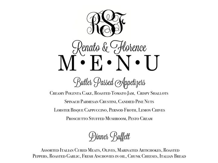 Tmx 1489686163221 Menu 1a Tulsa wedding invitation