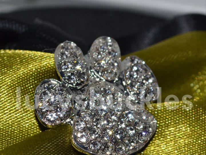 Tmx 1366204284776 Verticalpawprintrhinestonebuckle Van Alstyne wedding florist