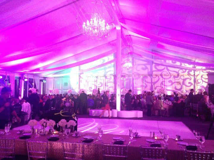 Wedding inside the Lagunita Pavilion