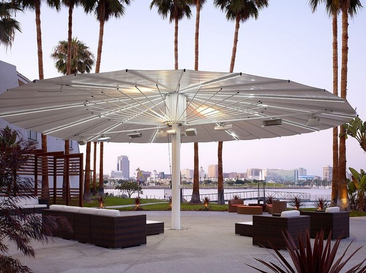 Waterfront Esplanade. Great for ceremonies and receptions.