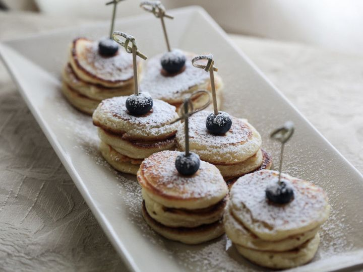 Tmx 1527280112 D5c81c4ba5ab1f42 1527280111 397aca1d080eeaa2 1527280108565 3 Pancakes With Blue Lake Placid wedding catering