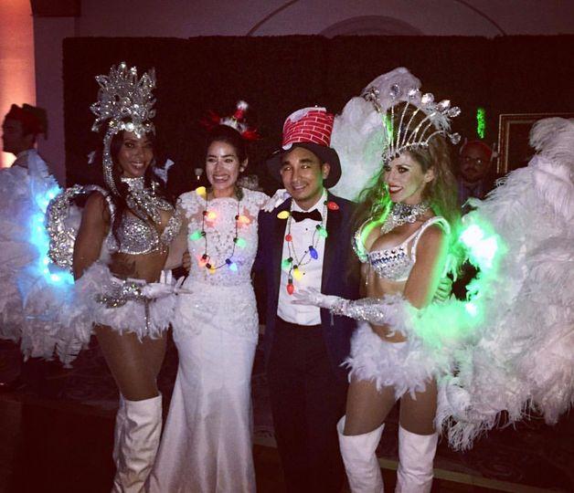 Angels dancers