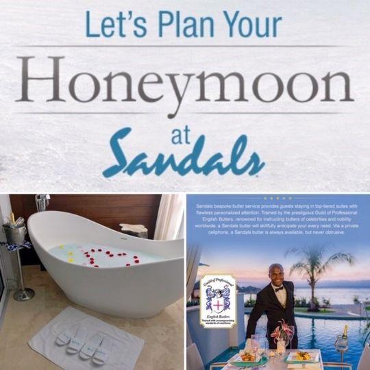 Let's plan your honeymoon!