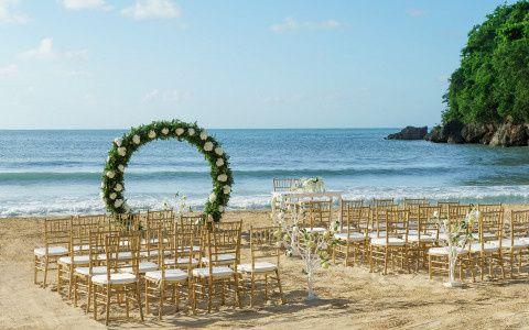 Couples Beach Ceremony