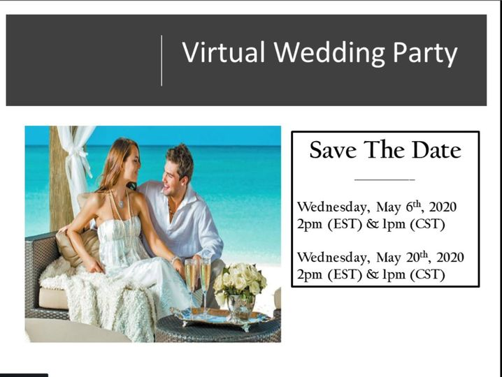 RSVP for virtual wedding party
