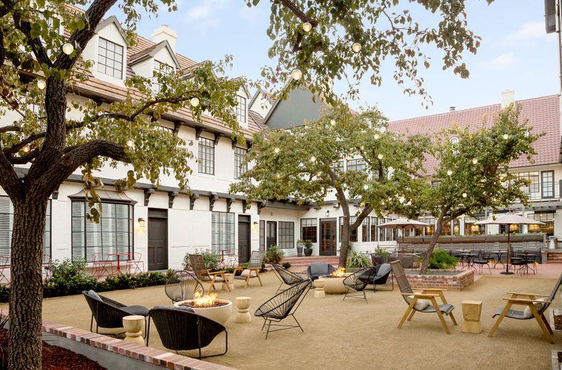 Village Courtyard