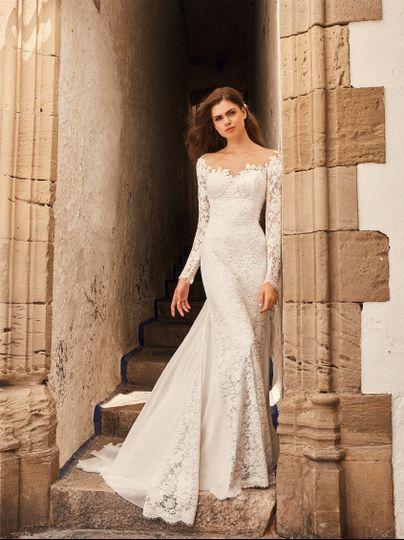 Pronovias White One Bridal